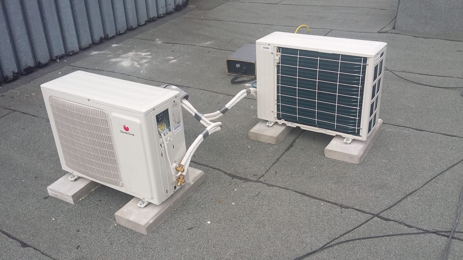 Instalacja klimatyzacji.